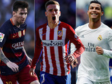 Messi, Cristiano y Griezmann nominados al mejor jugador FIFA