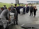 Colombia repatría restos de víctimas de tragedia aérea