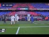 Real Madrid y Barcelona se van al descanso empatando 0-0 en el clásico español