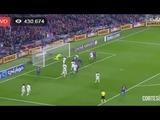 Barcelona abre el marcador frente a Real Madrid en el Camp Nou 1-0