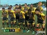 Platense se va al descanso ganando 1-0 a Real España