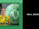 Esperanzador audio del portero del Chapecoense: