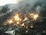 URGENTE: Avión se estrella en Pakistán sin sobrevivientes