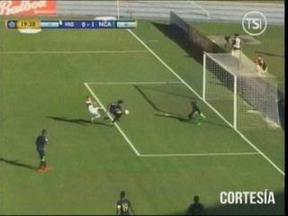 Nicaragua abre el marcador ante Honduras en la Copa Centroamericana 1-0