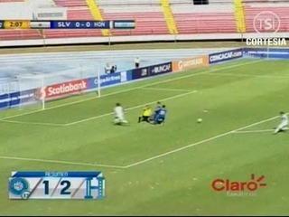 Honduras vence a El Salvador con doblete de Rubilio Castillo
