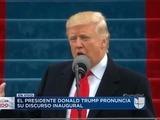 Discurso inaugural pronunciado por el presidente Donald Trump