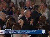 Trump realiza homenaje a Hillary Clinton en almuerzo presidencial