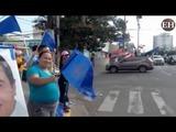 La capital de Honduras amanece repleta de propaganda política