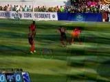 Motagua vs Gremio se van al descanso 0-0 en la primera parte de la Copa Presidente