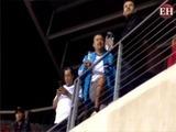 Ambiente previo al Honduras vs Jamaica en el BBVA Compass Stadium