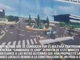 Cerrarán cruce del bulevar Centroamérica por construcción de túnel