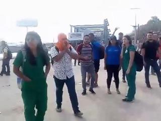 Honduras: Protestas en las afueras de la UNAH por las reformas penales