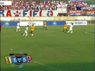 Olimpia gana por goleada y avanza por la Copa Presidente