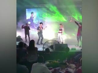 Criss Angel baila