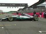 Mercedes Benz muestra su auto 2017 para la Fórmula 1
