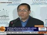 CN rectificará artículo que sanciona con cárcel a través de medios