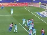 Barça vence al Atlético de Madrid en el Vicente Calderón