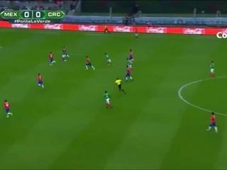 Javier Chicharito Hernández, primer gol de México ante Costa Rica 2017