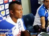 Ever Alvarado de la Selección de Honduras previo al duelo ante Costa Rica