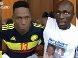 Yerry Mina y Pablo Armero le meten ambiente a la Selección Colombia con divertido baile