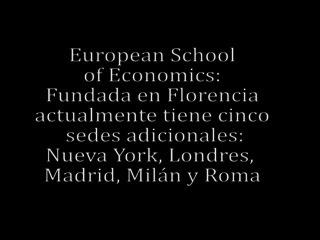 ESE\/ Escuela de Finanzas y Negocios