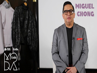 Miguel Chong BAC Credomatic Estilo Moda 2018