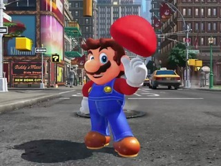 Someone is already speedrunning the in-store Super Mario Odyssey kiosk