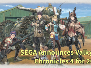 SEGA announces Valkyria Chronicles 4 for the PS4, Xbox One and Switch