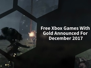 Free Xbox Games With Gold Announced For December 2017