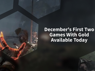 December's First Two Games With Gold Available Today