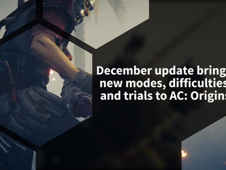 Assassin's Creed Origins December Update brings a new mode, difficulties and new Trial of the Gods