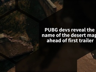 PUBG devs reveal the name of upcoming desert map, ahead of its trailer debut