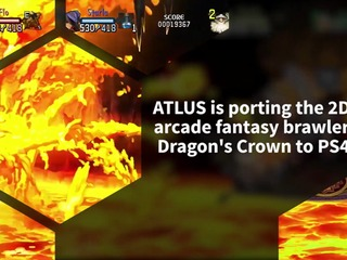 Atlus announced Dragon's Crown Pro coming to PlayStation 4 in Spring 2018