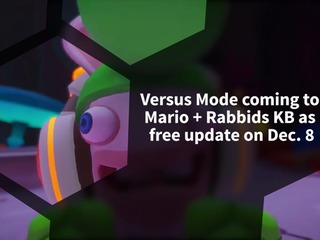 Mario + Rabbids: Kingdom Battle is getting a two-player Versus Mode in free update