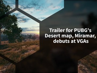 PUBG's desert map, Miramar, finally gets a trailer during Video Game Awards