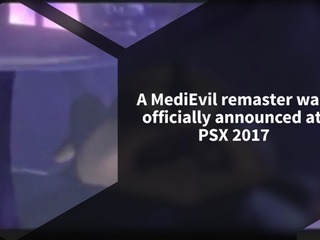 Sony announced a full remaster of MediEvil coming to PS4 with 4K support