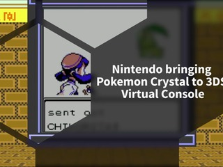 Nintendo announced Pokemon Crystal coming to 3DS Virtual Console in 2018