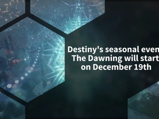The Dawning returns to Destiny 2 starting on December 19th
