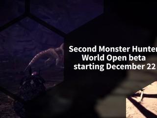 Monster Hunter World gets second beta on December 22, 2018