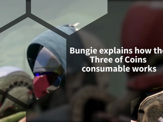 Bungie explains how the consumable Three of Coins works in Destiny 2