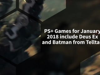Here are your PS+ games for January 2018
