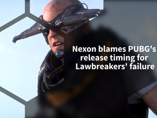 Nexon stated that PUBG is to blame for the failure of Lawbreakers