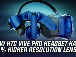 New HTC Vive Pro will have a 78% higher resolution and other improvements