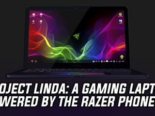 Project Linda merges the Razer Phone into a 13.3 inch gaming laptop