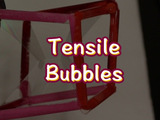 This fun craft teaches youngsters about tensile structures. The suspension seen between the bubbles mimics structures such as tents or roofs that cover large amounts of space with minimal material. For this project you will need: 3 pipe cleaners, 3 plastic straws, scissors, and bubble solution.