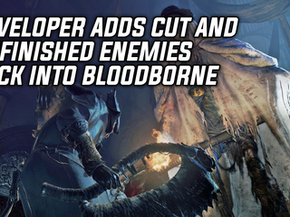 Developer adds cut and unfinished content back into Bloodborne