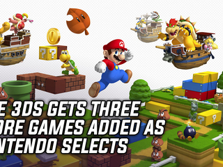 Nintendo adds three more games to their Nintendo Selects line of titles