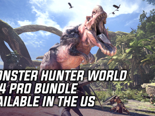 Monster Hunter World PS4 Pro bundle is a GameStop exclusive in the West