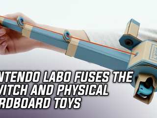 Nintendo Labo fuses the Switch with cardboard toys