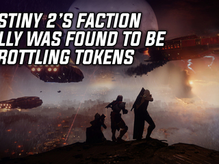 Destiny 2's Faction Rally discovered to be throttling tokens